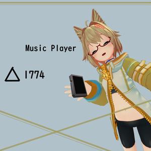 3Dモデル [Music Player]