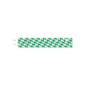 千馬格子傘(ホワイトXグリーン)
