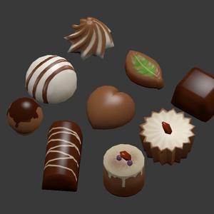 バーチャル手作りチョコレート 1.1