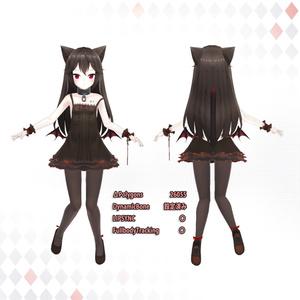【オリジナル3Dモデル】asha-エシヤ 2.0