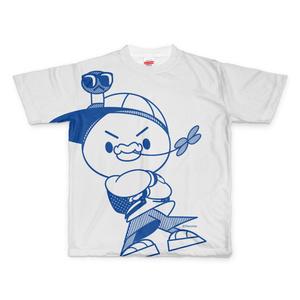PERORINE I love music C フルグラフィックTシャツ