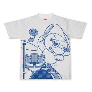 PERORINE I love music E フルグラフィックTシャツ