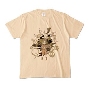 リッパー&トレイシースチームパンク風Tシャツ
