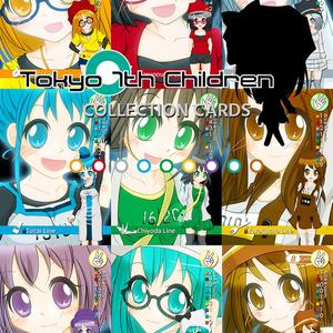 """トレーディングカート""""Tokyo 7th Children"""""""