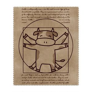 ウィトルウィウス的牛体図メガネ拭き