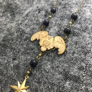Owl motif necklace