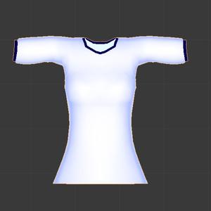体操服シャツ(女子用)