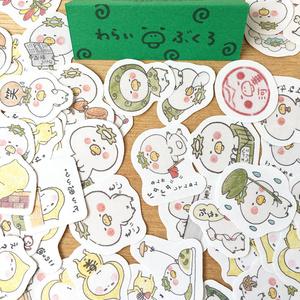 フレークシール3パックセット 河童書房〜わらいぶくろ〜