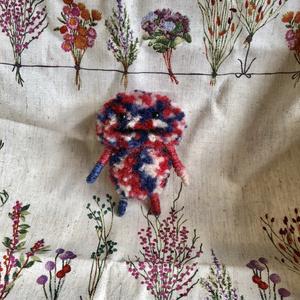羊毛フェルト&毛糸 ぽんぽん坊やとリボンかご