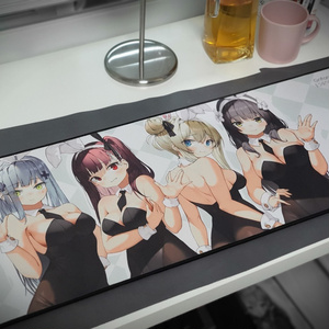Girls frontline bunny girls long mouse pad