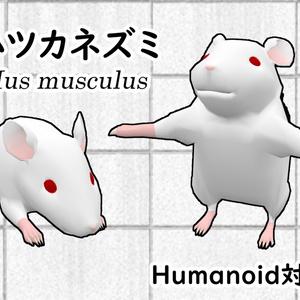 ハツカネズミ(House mouse)