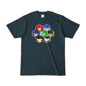 セントラル・ガールTシャツ(デニムカラー)