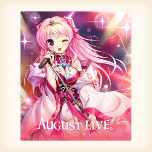 「AUGUST LIVE! 2016」Blu-ray & DLCard