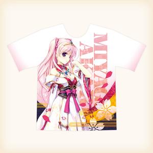フルグラフィックTシャツ 宮国朱璃