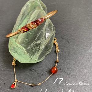 「17」bracelet set &necklace