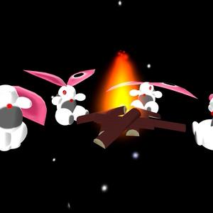 MOA-013 白斑兎のファキュラ 【3Dモデル】