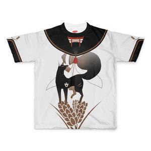 お狐様 ‐およびだしTシャツ-