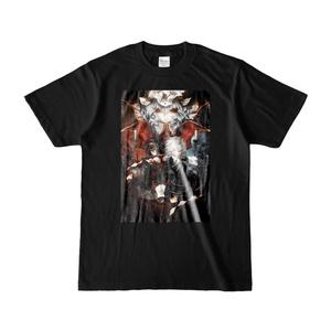 紅魔城伝説 I&II 晩杯あきら イラストTシャツ[Premium Pack]