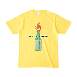 『THIS IS MY ANSWER!』Tシャツ