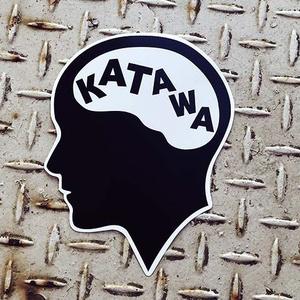 脳KATAWAステッカー