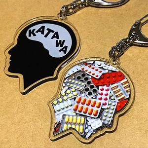 脳KATAWAアクリルキーホルダー 全2種類