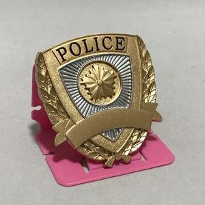 警察手帳用 エンブレム & 店名ステッカーセット /  記章 徽章
