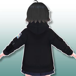 【VRoid用】ジップパーカー【テクスチャ】