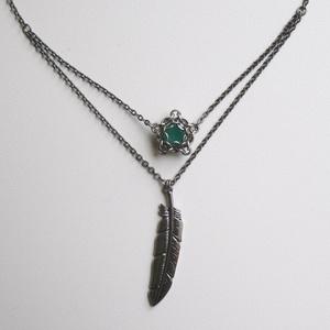 「ロビンフッド」の2連ネックレス