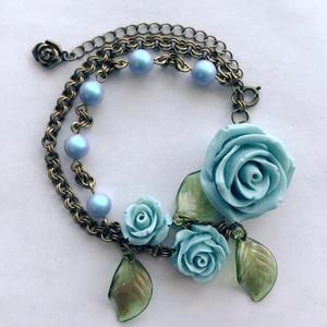 「廃墟に咲く薔薇」ブレスレット