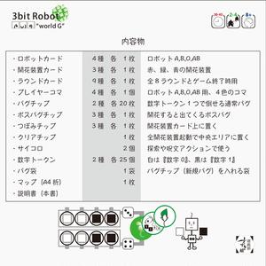 "3bit Robot ""world G"" バグ退治協力ゲームG"