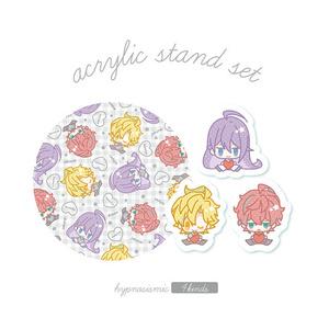☆缶入りアクスタセット【ヒプマイ】