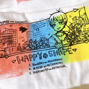 はぴしぇTシャツ