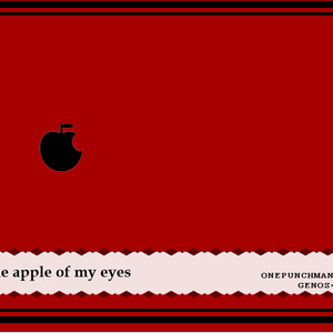 The apple of my eyes.