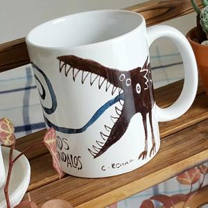 名状しがたきマグカップ(ティンダロスの猟犬)