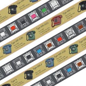 黒電話マスキングテープ