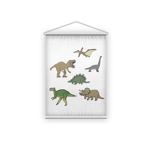 かっこいい恐竜のタペストリー