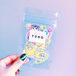 """YUMO"" ADVENT FLAKE STICKER"