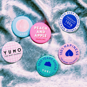 """YUMO""  ICE CREAM BADGE _ MOMORIN"