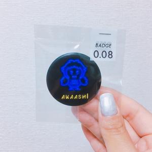 ネオン管缶バッジ_AKAASHI