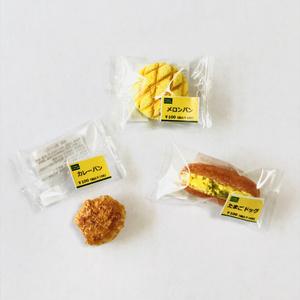 Bセット(食べかけカレーパン・たまごドッグ・メロンパン)