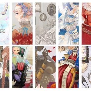 イラスト集「DRESS-その衣に袖を通す美々しいおまえたち-」