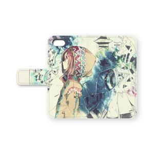手帳型iPhone5ケース
