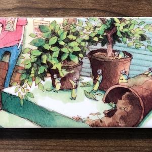 植木鉢iphoneケース(5、SE)