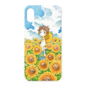 ひまわりiPhoneXケース