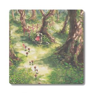 森の奥へコースター