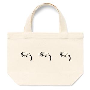 シャム猫のチーコ3匹 ランチトート