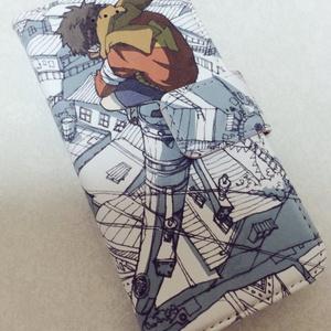 電柱少年手帳型iPhoneケース
