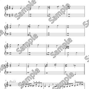 【楽譜】たなばたさまJazz