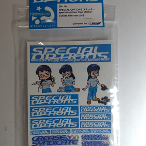 【SPECIAL OPTIONS】SP-14 SPECIAL OPTIONSステッカー