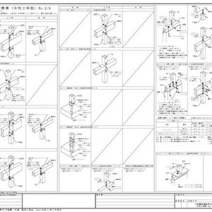 【 A2 木造構造[軸組取合]標準 】